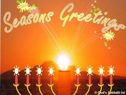 Seasons Greetings, Friede – Sehnsucht in den Namen Gottes