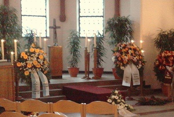 Beisetzungsfeierlichkeiten vom 1. Februar 2010