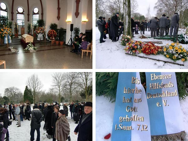 Pictures of the funeral of February 1