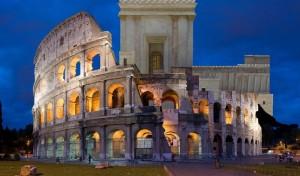 Kolosseum vs. Gottes Tempel