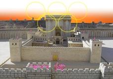 Der Tempelberg in Jerusalem - Morijah