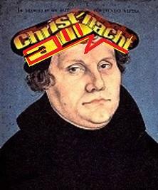 Das unnette Kreuz mit Luthers Volksverhetzung