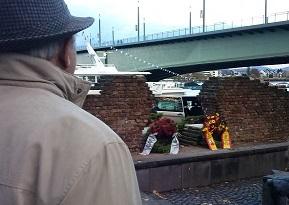 Ausblick am Novemberpogrom Gedenktag Reichspogromnacht 10.11.2013