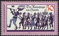 Deutsche Bundespost Rattenfänger von Hameln