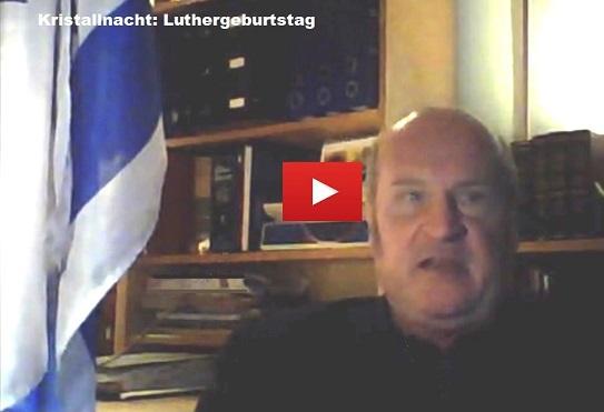 Kristallnacht: Luthergeburtstag